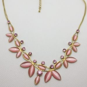 Avon Precious Flower Gold Tone Necklace